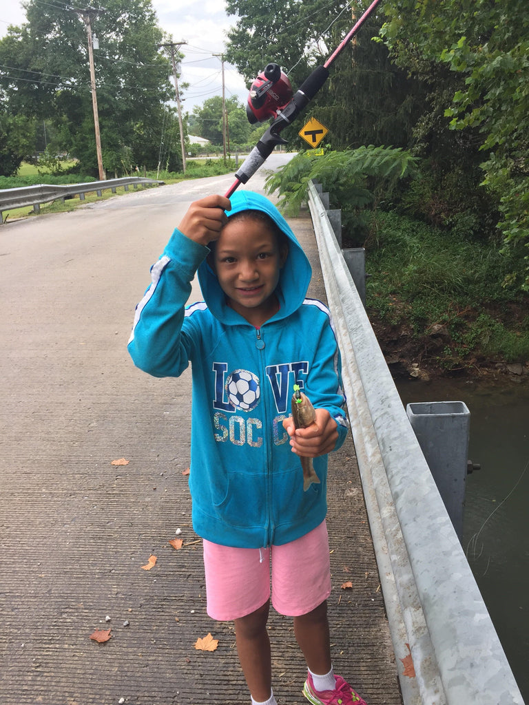 Ellie Collinsworth Catches Her First Fish