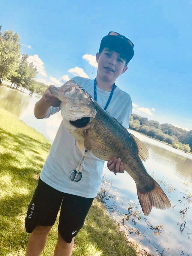 Youth is Cranking for Big Bass - TLO Outdoors