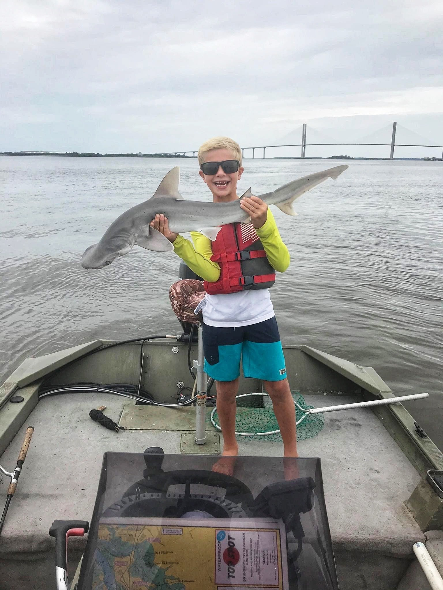 Reed Catches 36 Inch Bonnethead