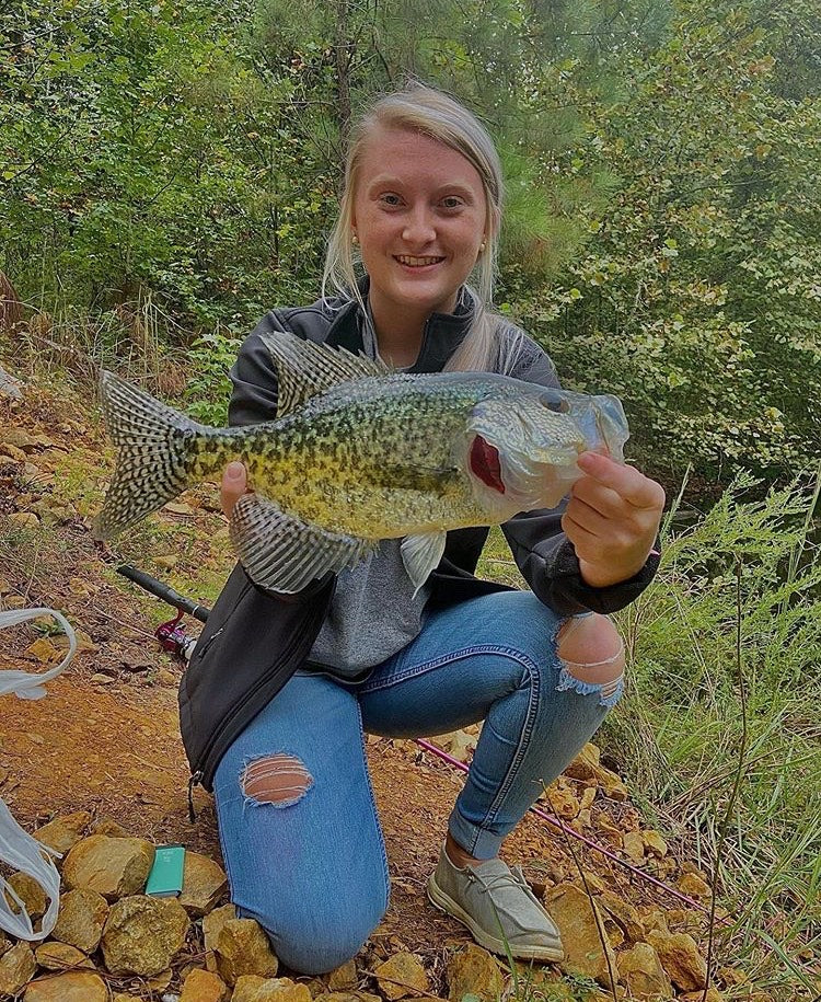 Meghan Tucker Catches Great Crappie