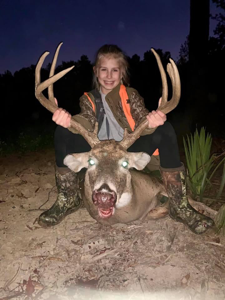 Morgan Rae Kills Buck and Huge Hog