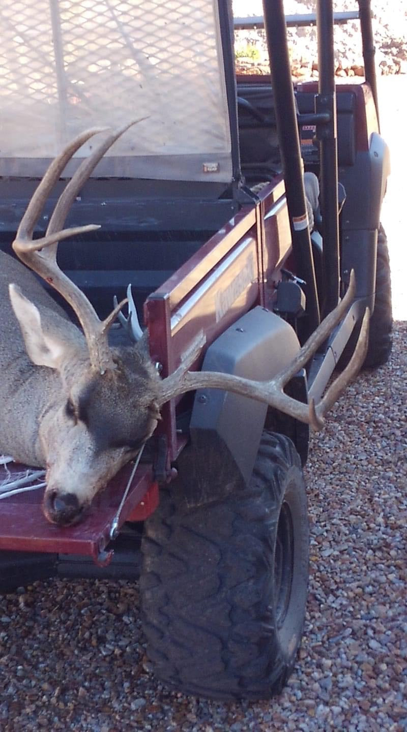 Chuck Ulitchney Harvests New Mexico Buck