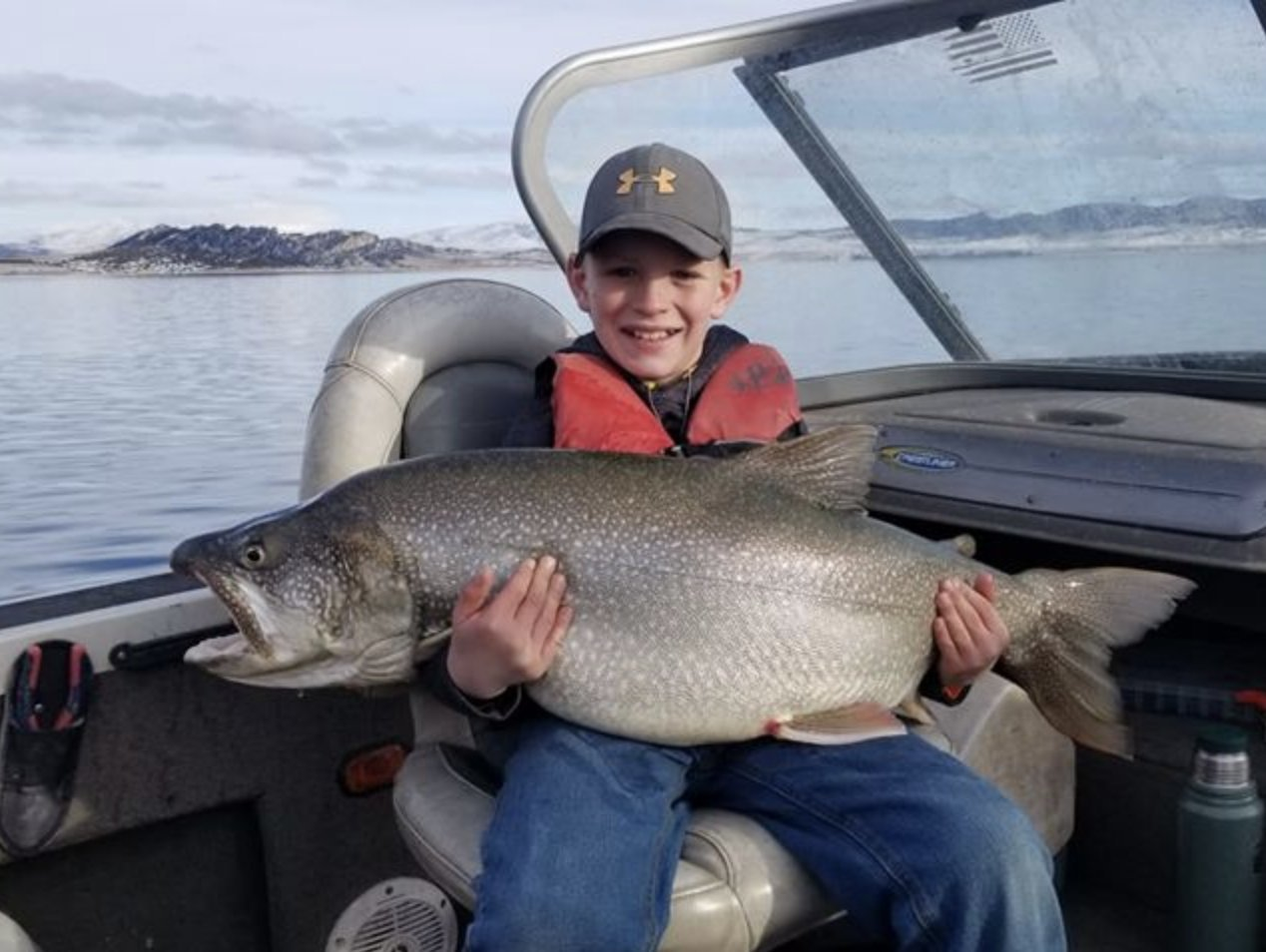 10-Year-Old Boy Catches Massive Trout - TLO Outdoors