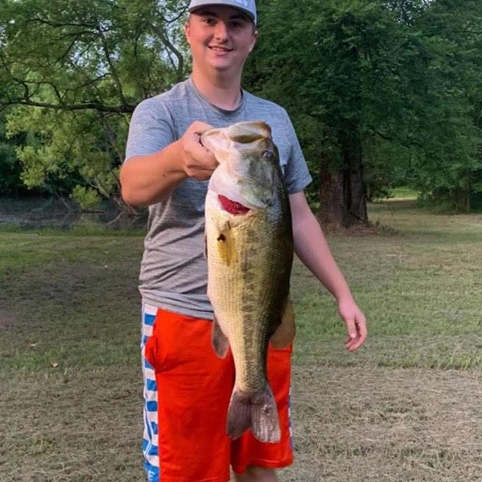 Zachary Leming Catches a Nice Bass