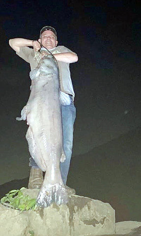 100 Pound Catfish Catch