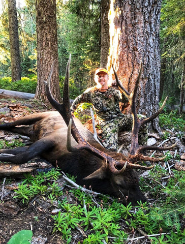 Monster Elk Dropped in North California