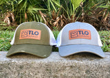 TLO Outdoors rugged, distressed trucker caps