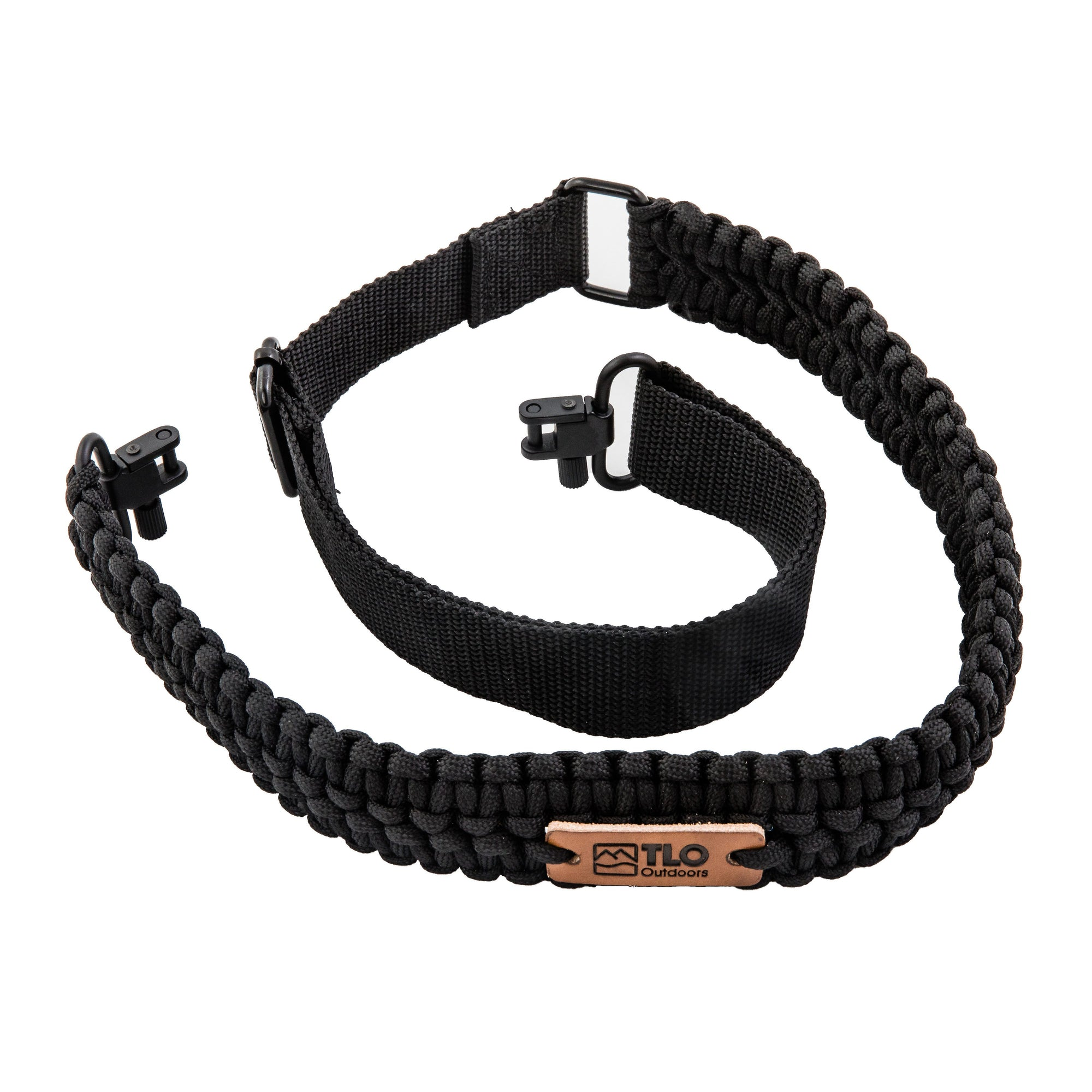 TLO Outdoors Adjustable 2-Point Paracord Tactical Gun Sling for Rifle, Shotgun, and Crossbows - TLO Outdoors