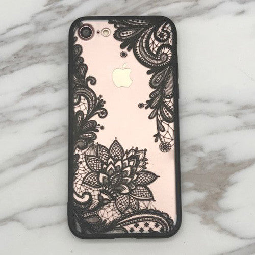 Luxury Lace Flower Case For iphone 6, 6S & 7 - NiceHotDeals.com - Shopping made easy