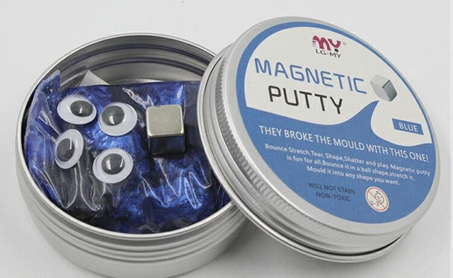 DIY Space Magnetic Silly Putty Slime-NiceHotDeals.com