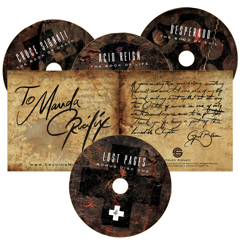 "Limited Edition 4 Disc Set ""Crucifix Chronicles"""