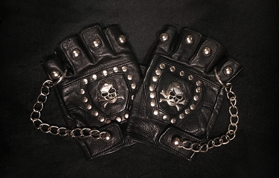 Load image into Gallery viewer, Blacked Out Tour Gloves