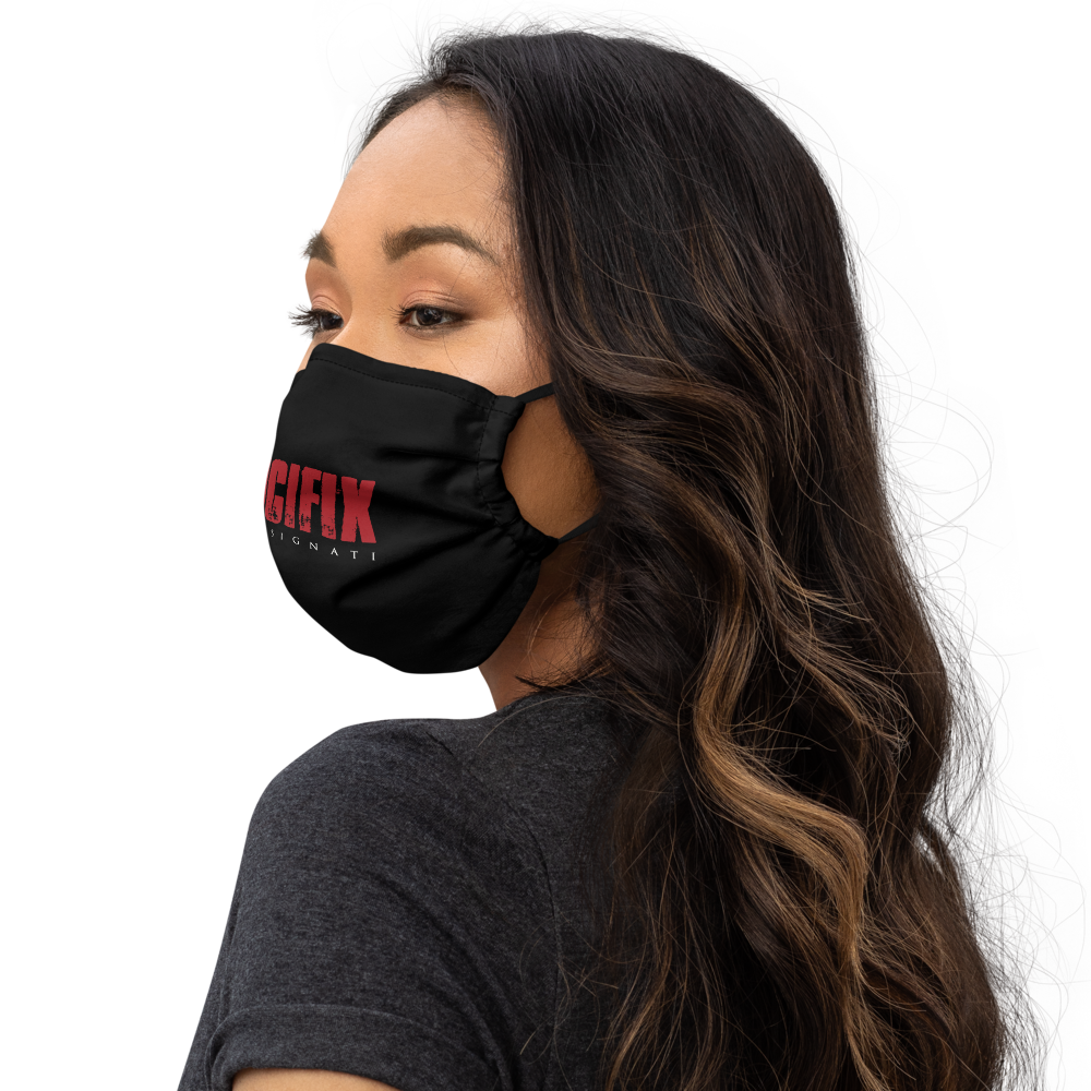 Load image into Gallery viewer, Rosebone Blk Mask