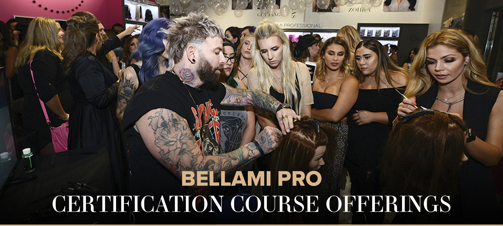 BELLAMI PRO CERTIFICATION COURSE OFFERINGS