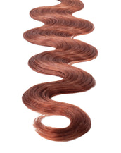 "BELLAMI Professional Volume Wefts 16"" 120g Vibrant Auburn #33 Natural Body Wave Hair Extensions"