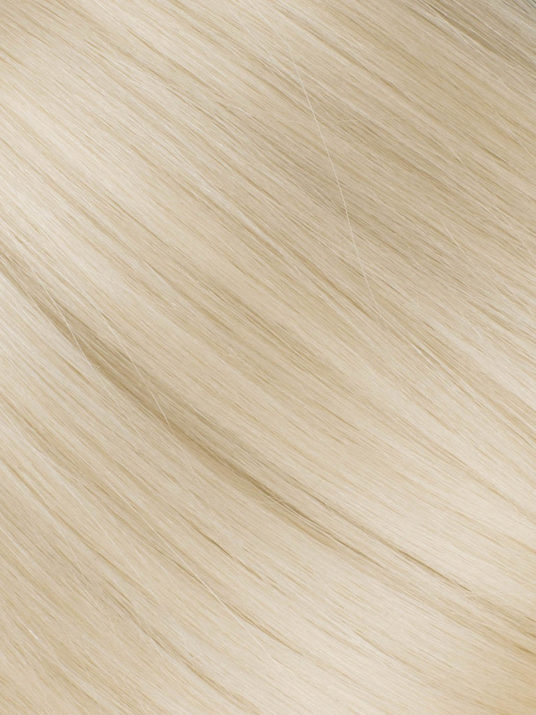"BELLAMI Professional Tape-In 40"" 75g  Ash Blonde #60 Natural Straight Hair Extensions"