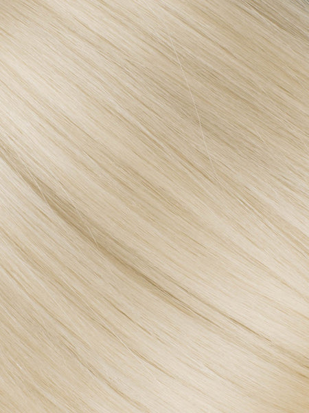 "BELLAMI Professional Micro Keratin Tip 18"" 25g  Ash Blonde #60 Natural Straight Hair Extensions"