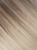 "BELLAMI Professional Tape-In 14"" 50g  Ash Brown/Ash Blonde #8/#60 Balayage Straight Hair Extensions"