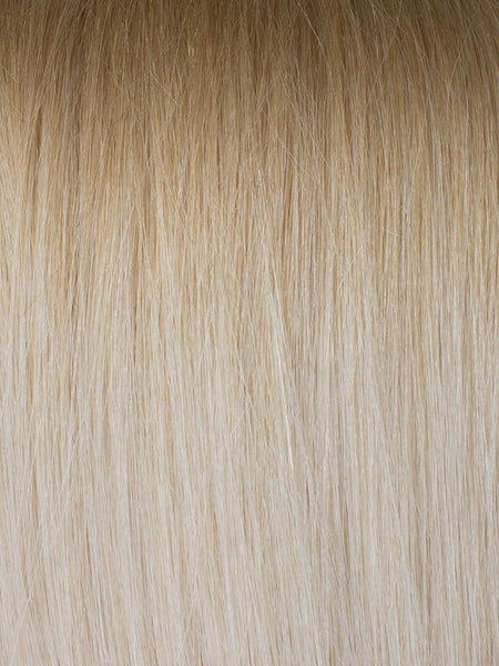 "BELLAMI Professional Micro I-Tips 20"" 25g  Ash Brown/Golden Blonde #8/#610 Rooted Straight Hair Extensions"