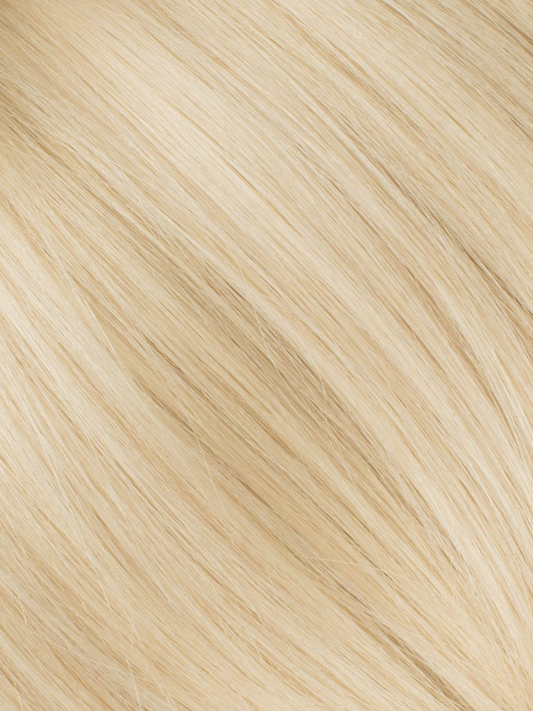 "BELLAMI Professional Micro I-Tips 16"" 25g  Beige Blonde #90 Natural Straight Hair Extensions"