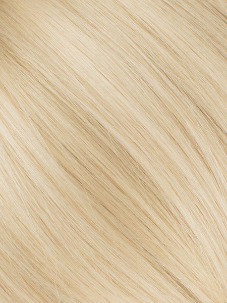 "BELLAMI Professional Micro I-Tips 20"" 25g  Beige Blonde #90 Natural Straight Hair Extensions"