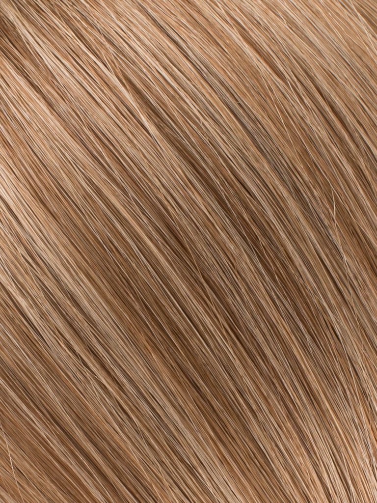 "BELLAMI Professional I-Tips 24"" 25g  Bronde #4/#22 Marble Blends Straight Hair Extensions"