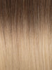 "BELLAMI Professional Tape-In 38"" 75g  Brown Blonde #8/#12 Rooted Straight Hair Extensions"