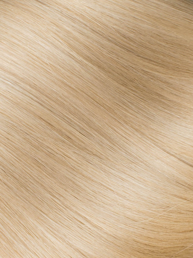 "BELLAMI Professional I-Tips 16"" 25g Butter Blonde #10/#16/#60 Natural Body Wave Hair Extensions"
