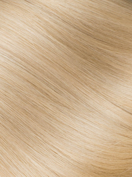 "BELLAMI Professional Micro I-Tips 20"" 25g  Butter Blonde #10/#16/#60 Natural Straight Hair Extensions"
