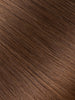 "BELLAMI Professional Micro Keratin Tip 16"" 25g  Chocolate Brown #4 Natural Straight Hair Extensions"