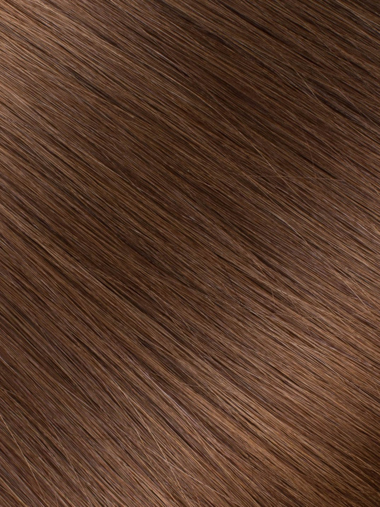 "BELLAMI Professional Volume Wefts 24"" 175g  Chocolate Brown #4 Natural Straight Hair Extensions"