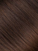 "BELLAMI Professional Micro I-Tips 16"" 25g  Chocolate mahogany #1B/#2/#4 Sombre Straight Hair Extensions"