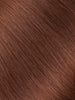 "BELLAMI Professional Micro Keratin Tip 20"" 25g  Dark Chestnut Brown #10 Natural Straight Hair Extensions"