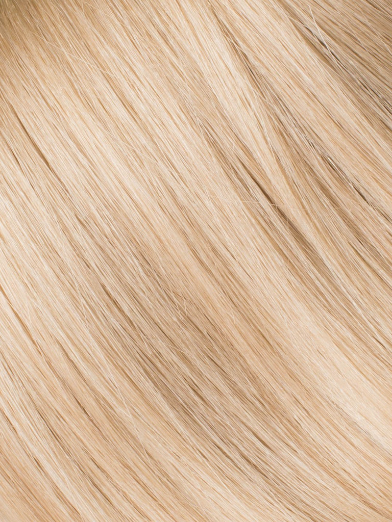 "BELLAMI Professional Micro I-Tips 18"" 25g  Dirty Blonde #18 Natural Straight Hair Extensions"