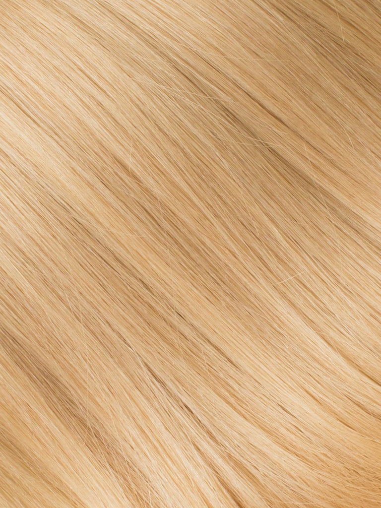 "BELLAMI Professional Micro I-Tips 20"" 25g  Golden Blonde #610 Natural Straight Hair Extensions"
