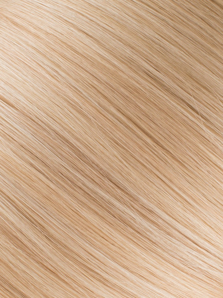 "BELLAMI Professional Micro I-Tips 20"" 25g  Honey Blonde #20/#24/#60 Natural Straight Hair Extensions"