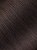 "BELLAMI Professional Micro Keratin Tip 16"" 25g  Mochachino Brown #1C Natural Straight Hair Extensions"