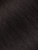 "BELLAMI Professional Micro Keratin Tip 18"" 25g  Off Black #1B Natural Straight Hair Extensions"