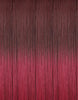 "BELLAMI Professional I-Tips 16"" 25g Raspberry Sorbet #520/#580 Sombre Hair Extensions"