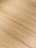 "BELLAMI Professional I-Tips 16"" 25g  Sandy Blonde/Ash Blonde #24/#60  Natural Straight Hair Extensions"