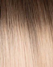 Walnut Brown/Ash Blonde Rooted (#3/#60) Rooted