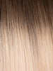 "BELLAMI Professional Tape-In 38"" 75g Walnut Brown/Ash Blonde #3/#60 Rooted Straight Hair Extensions"