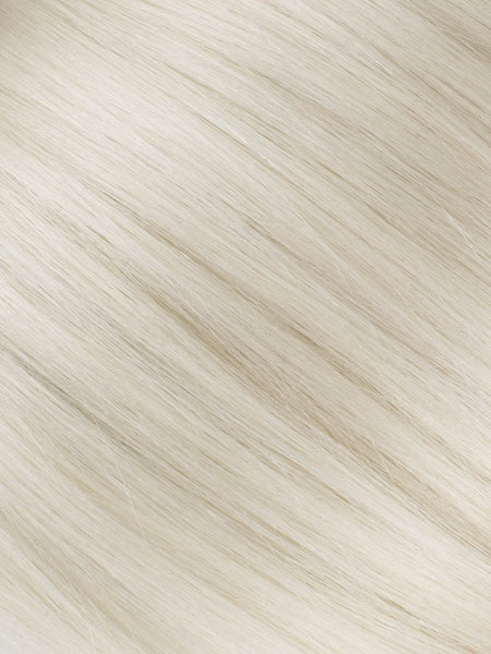 "BELLAMI Professional Tape-In 18"" 50g  White Blonde #80 Natural Straight Hair Extensions"