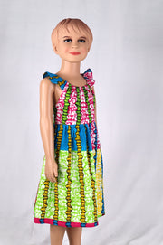 Sweet Ankara dress - African fabric