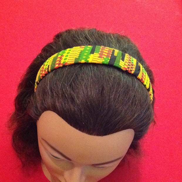 African print hairband / headband / Kente / ethnic / tribal /