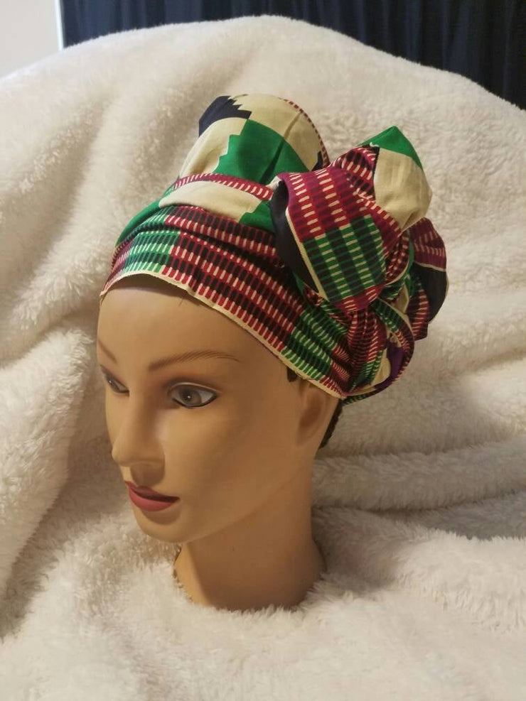 Kente Hair Wrap / Scarf