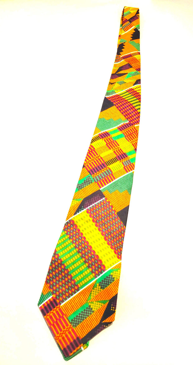 Tie and bow ties kente african Print