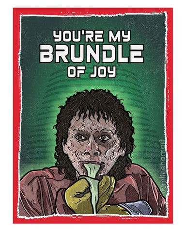 The Fly Brundle Valentine