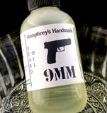 9mm Beard Oil | Coffee and Leather Scent | Pro Gun | 2 oz - Humphrey's Handmade