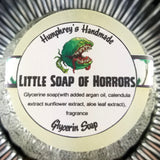 LITTLE SOAP of HORRORS | Glow in the Dark | Tropical Scent | Glycerin Shave & Shampoo Soap - Humphrey's Handmade